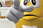Thumbnail for the post titled: M&M's Will Reveal Its Super Bowl Spot in the Most 2020 Way Possible: a Zoom Call